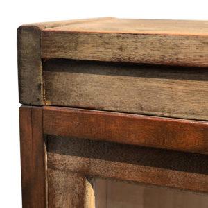 Antique Shiplap Shaw Walker 4 Stack Barrister Bookcase